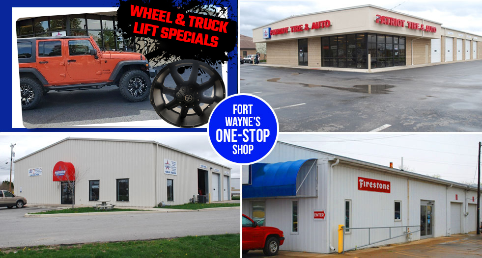 Tire Shops Near Me Open On Sunday >> Ft Wayne In Tires Auto Repair Shop Patriot Tire Auto Care